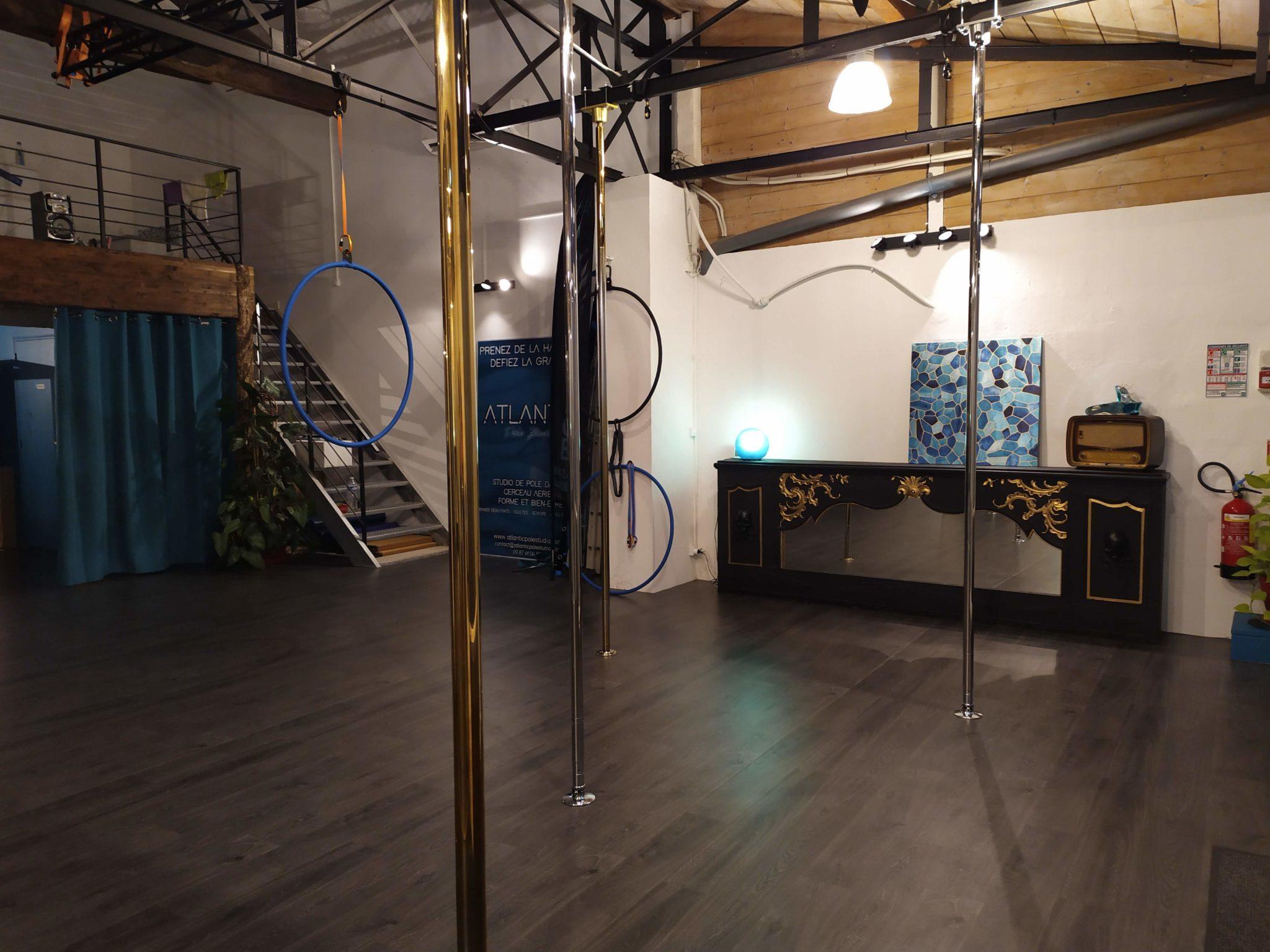 Studio pole dance pays basque